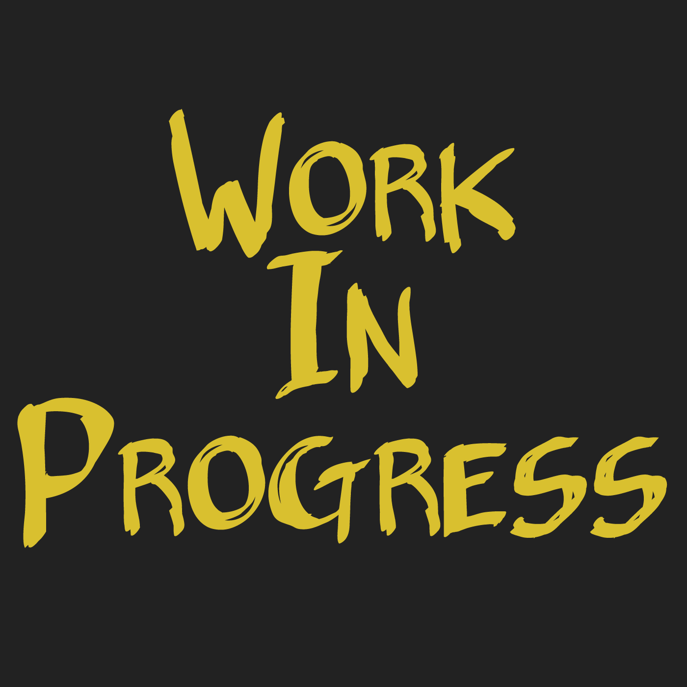 Podcast – Work In Progress